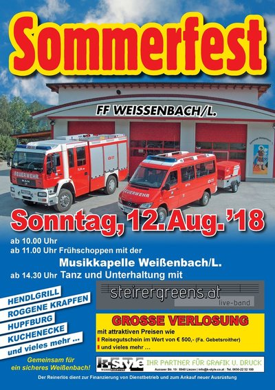 FF Weißenbach Sommerfest 18