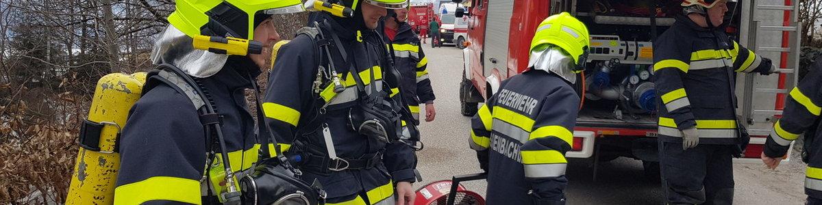 Brand in einem Heizraum in Wörschach