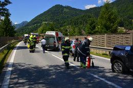 Verkehrsunfall B320 26.06.2017