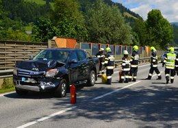 Erneut Verkehrsunfall auf der B320!!