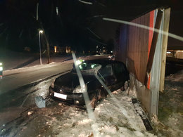 Verkehrsunfall auf Hauptstraße!