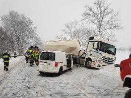 Schwerer Verkehrsunfall auf B320