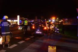Verkehrsunfall auf B320